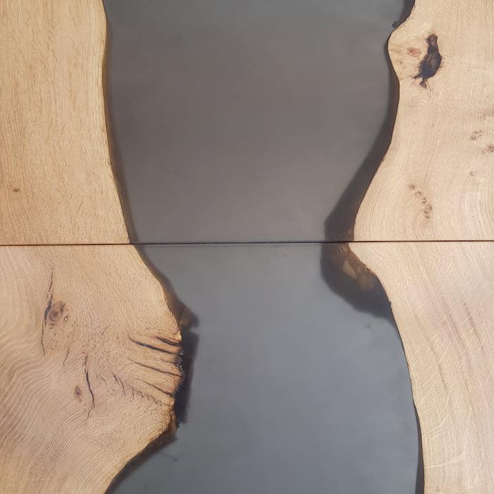 Table rivière chène 380cm